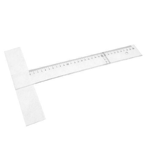 bureau-de-lecole-outil-de-mesure-t-forme-ruler-regle-30-cm