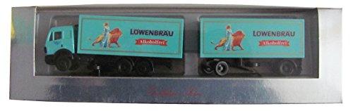Preisvergleich Produktbild Herpa - Löwenbräu (alkoholfrei) - MB - Hängerzug