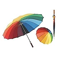 "Golf Umbrella 30"" bright and colourful"
