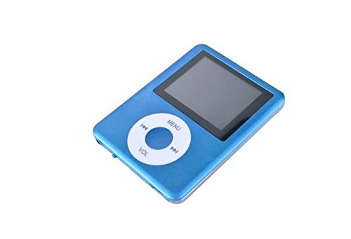 Captcha 3rd Gen MP4 Player (Video & Audio) (Blue)