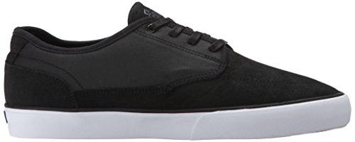 Circa Essential Hommes Cuir Chaussure de Basket Black