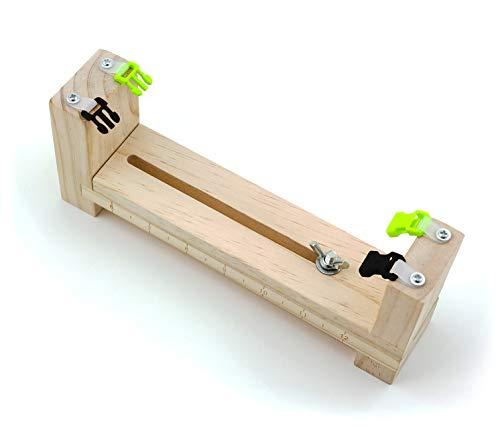PRECORN Knüpfhilfe Herstellung v. Paracord-Armbändern Halsbänder uvm Flechthilfe Flechtvorrichtung -