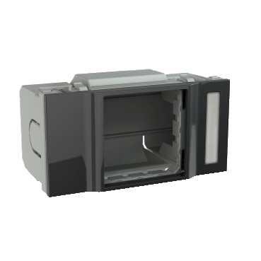 SCHNEIDER - MODULO ELECTRICO GRIS INS66751 45X45MM MODULO ADICIONAL PARA LA COLUMNA DE LA INSTALACION