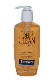 Profonda Detergente Viso pulito Pelle Normale-Grassa per Neutrogena per unisex-6,7oz Cleanser