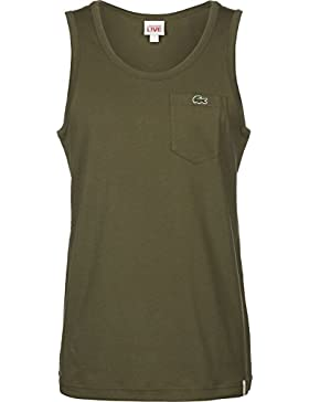 Lacoste Camiseta Sin Mangas Para Hombre