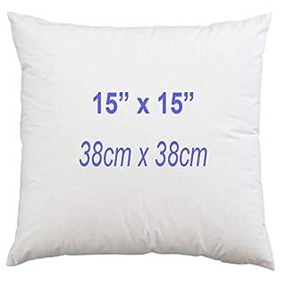 ANZ GLOBAL 1 Pack of - 15 x 15 Inch Cushion Inners Chunky Pads, Fluffy Sofa Cushion Insert 15
