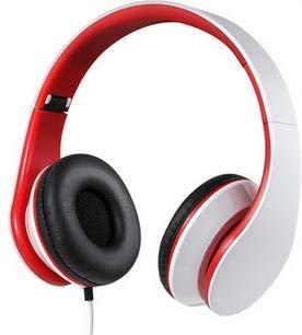 TGSKGZKJDBMD Headsets 3,5-mm-Stereo-Kopfhörer 7.1 Surround-Sound, Geräuschunterdrückung Gaming-Headset mit Mikrofon für PC Laptop Smartphones iPhone, rot