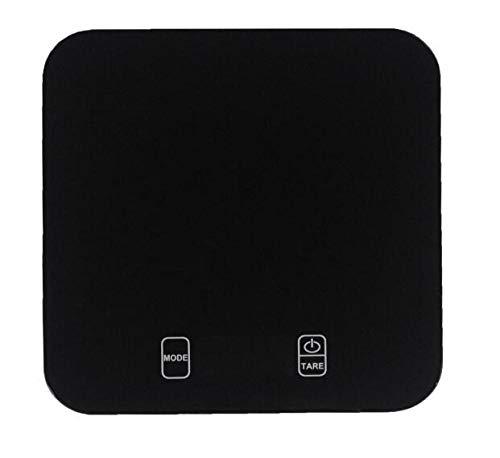 DuDuDu Cuisine balances LCD Affichage Digital précis trempé Alimentaire Cuisson électronique Verre pesant Precision15kg / 1g