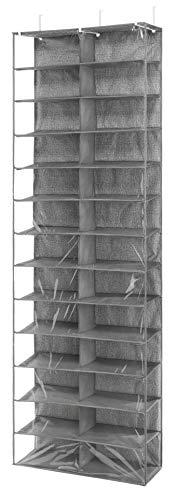Whitmor 6283-4457 Schuhregal für die Tür mit 26 Fächern