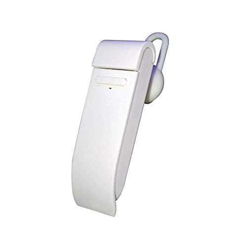 DSJMUY Drahtloses Bluetooth-Headset Sofortübersetzung Einzelohr-Kopfhörer Sportgeschäft Rauschunterdrückung,White