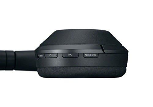 Sony MDR-1000X kabelloser High-Resolution Kopfhörer (Noise Cancelling, Sense Engine, NFC, Bluetooth, bis zu 20 Stunden Akkulaufzeit) schwarz - 6
