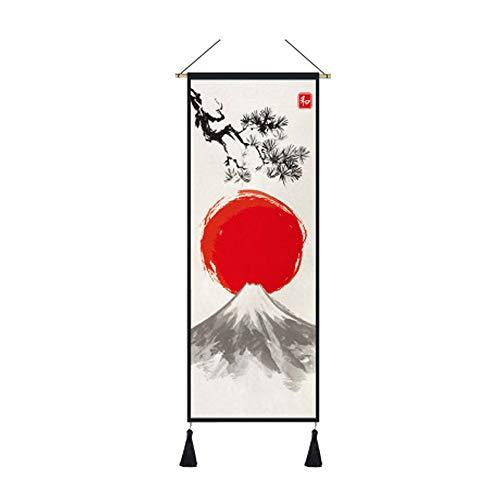 arazzo HuAma Stile Giapponese Bandiera Camera da Letto Soggiorno Parete Decorazione Pittura