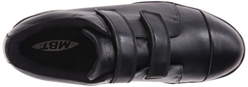 MBT ZENDE black 700489 Herren Halbschuhe Klettverschluss schwarz Black
