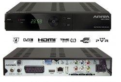 Ferguson Ariva FA102C Digitaler HDTV-Kabelreceiver (PVR-Funktion, HDMI, SCART, 2x USB 2.0) schwarz