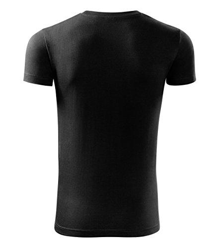 Herren Shirt Weihnachten Merry XXX Mas - T-Shirt Poloshirt mit Motiv - Design - NEU Schwarz