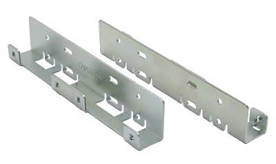 """InLine® HDD Einbauschienen, 2x 6,35cm (2,5"""")->8,89cm (3,5""""), nur Rahmen und Schrauben von INTOS ELECTRONIC AG bei Lampenhans.de"""