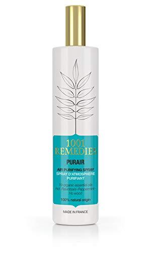 1001 Remedies Ambientador Casa - Bruma de Almohada, Spray Purificador de Aire para Hogar y mas con Lavanda...