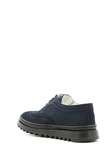 Melania , Chaussures de ville à lacets pour fille Bleu