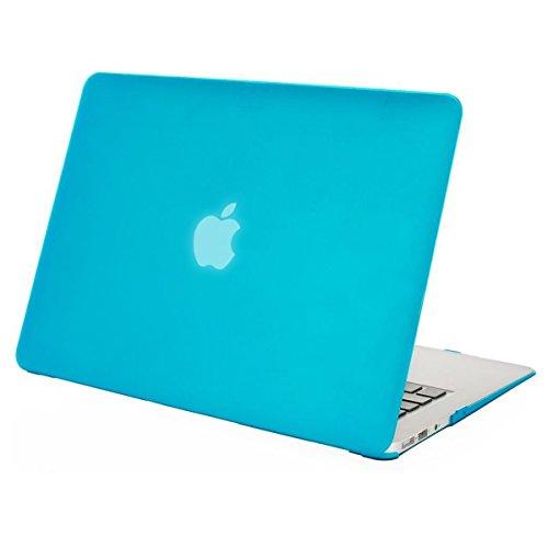 MOSISO Hülle Kompatibel MacBook Air 11 Zoll - Ultra Slim Hochwertige Plastik Hartschale Schutzhülle Snap Case Kompatibel MacBook Air 11 (A1370 / A1465), Wasserblau