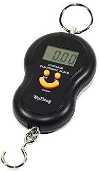Portable Electronic Luggage Scale 50kg (Multicolor)