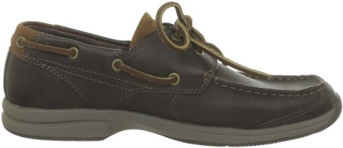 Timberland Ekhullcov 2Eye Dk Brn Fg, Chaussures basses homme Marron (Dark Brown)