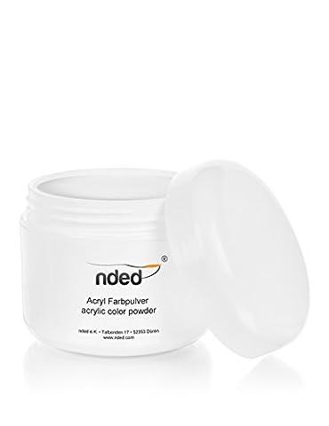 Poudre acrylique NDED, Clair, 30 g, catalysant á l`air