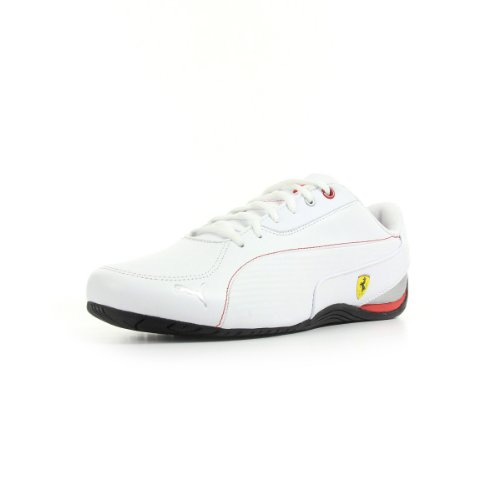 Puma Drift Cat 5 SF NM 304946 Unisex-Erwachsene Sneaker Weiß - Blanc, rouge et noir