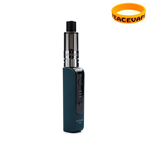 Justfog P16A kit di partenza 900 mAh (Verde) sigaretta elettroniche Senza Nicotina con PEACEVAPE Vape Band