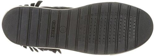 Geox D Breeda K, Scarpe da Ginnastica Alte Donna Schwarz (BLACKC9999)