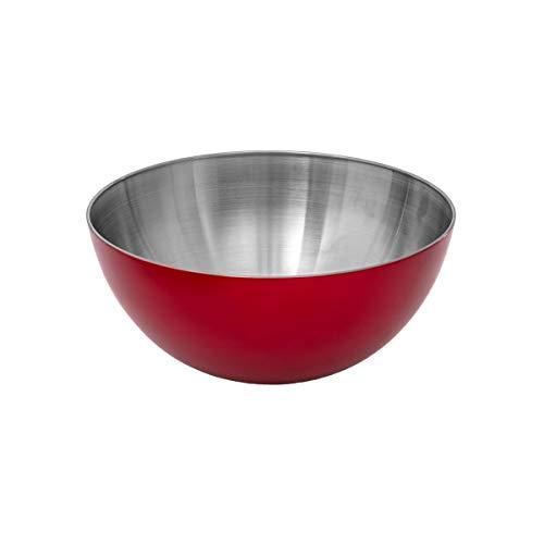 Secret de Gourmet - Saladier inox rouge 19cm