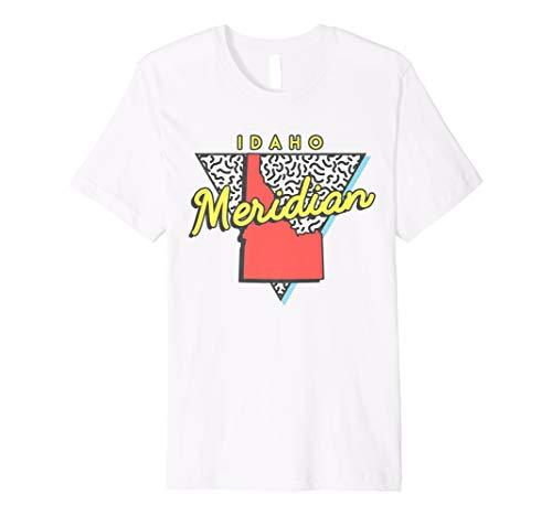Meridian Idaho T Shirt Retro ID Apparel Souvenir (Meridian Tee)
