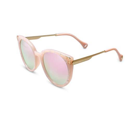 JFFFFWI Polarisierte Sonnenbrille Mens Womens Classic Retro UV400 Geschützte Linse