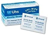 Alcotip 70% Isopropyl Alcohol Pre-Injection Swabs (100pk)
