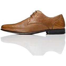 FIND Herren Derby-Schuhe, Braun (Tan), 43 EU