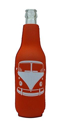 1023105 - Neopren Flaschenkühler Bus Rot