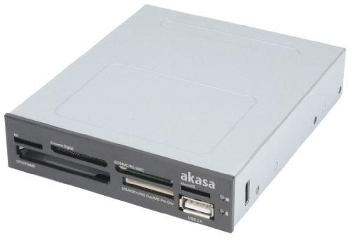 AKasa AK-ICR-07 Interner Kartenleser 6-Port 8,9 cm (3,5 Zoll) schwarz (D-card-reader)