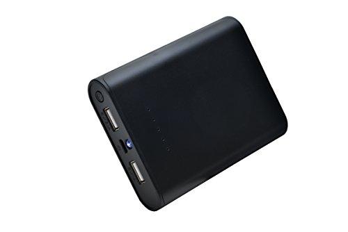 aricona-Design-PowerBank-7800-mAh-in-schwarz-mit-LED-Taschenlampe-externer-mobiler-Akku-mit-zwei-USB-Anschlssen-paralleler-Ladevorgang-fr-bis-zu-zwei-Smartphones-Tablets-Der-Power-Akkupack