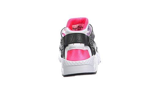 Nike Mädchen Huarache Run (Gs) Laufschuhe, Schwarz Weiß (Weiß (White / Anthracite-Hypr Pink-Blk))