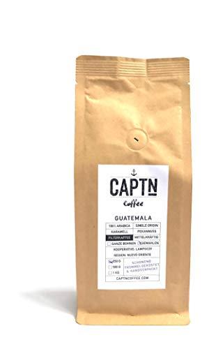 Guatemala Kaffee Gemahlen | 100 {293daa894fa38b57190c8cf1ef931b3f0c11265c23e8c0efe267412bf233512e} Arabica Single Origin | 250 G | Direkt Gehandelt | Schonend Trommelgeröstet | Handverpackt | Filterkaffee | Premium Qualität | Ideal als Geschenk