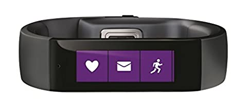 Microsoft Fitness and Activity Tracker Wrist Band - Large,