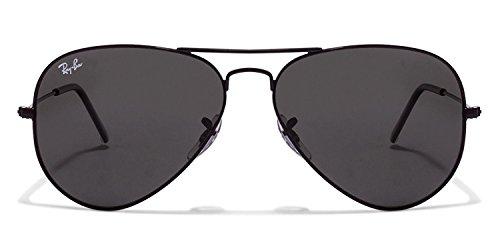 Generic UV Protected Aviator Men\'s Sunglasses (GSRB0046|Black)