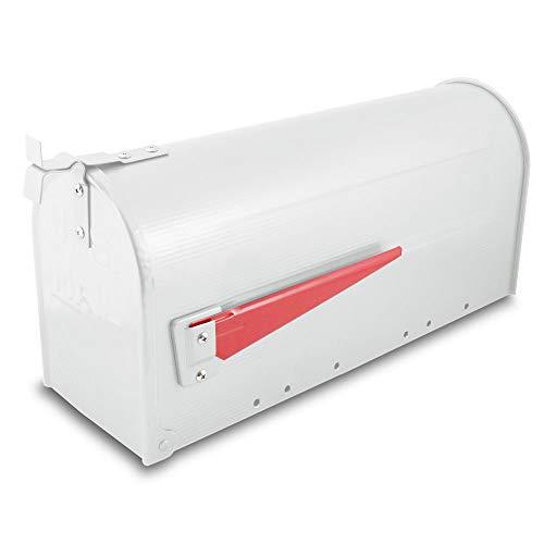 US Mailbox Amerikanischer Briefkasten Standbriefkasten Wandbriefkasten Letterbox Weiß - 2