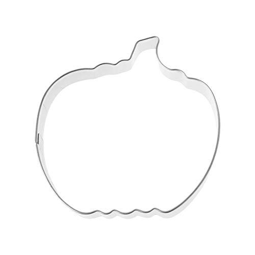 wanfor Cookie Ausstechform 3D Cartoon Tier Kekse Edelstahl Fondant Kuchen Backen DIY, edelstahl, silber, 03# Cookies Ausstechformen