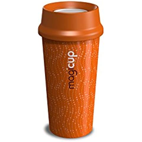 Magicup Barista Thermally Insulated Travel Mug 470ml/16oz (Revolution Orange) by