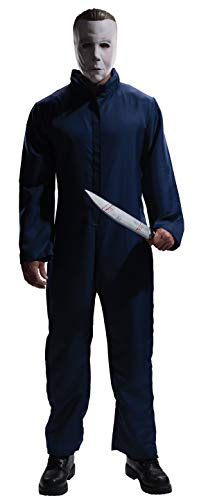 """ael Myers für Erwachsene, Offizielle Verkleidung aus dem Horrorfilm """"Halloween"""", mit Maske, Größe XL ()"""