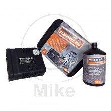 TERRA-S Reifen-Pannenset STANDARD KIT inkl. Kompressor & Dichtmittel