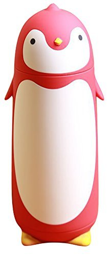 Penguin-Red-ChezMax-Outdoor-Water-Bottle-for-Kids-Water-Glass