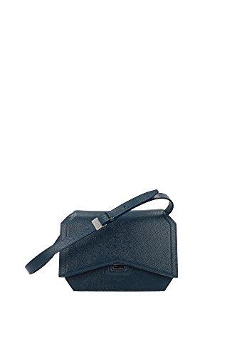 BB05573480456 Givenchy Pochette de soirée Femme Cuir Verni Céleste Céleste