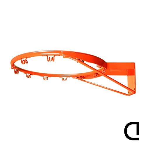 CDsport Canestro Basket Esterno e Interno Regolamentare Cesto Pallacanestro Professionale Anello da Muro Basket Hoop Indoor e Outdoor Resistente e