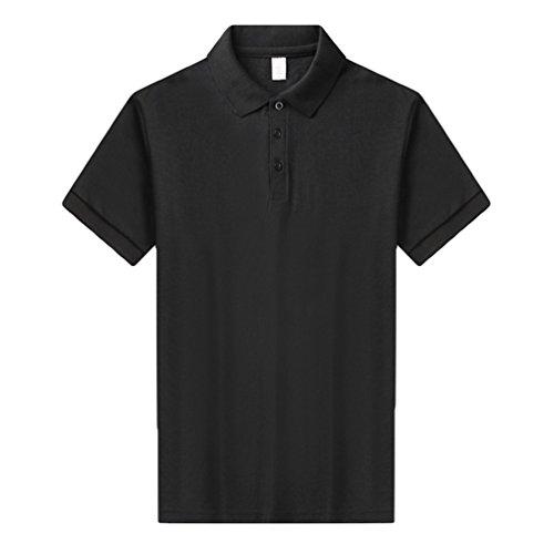 ZKOO Polo Donna Basiche Manica Corta Polo Magliette Polo Shirts Risvolto Bottoni T shirt Tops Estate
